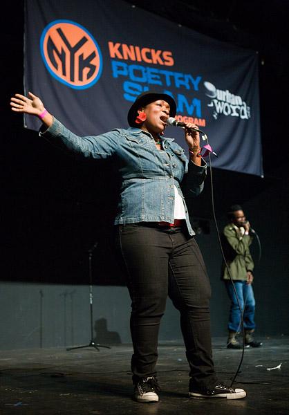 Knicks Poetry Slam