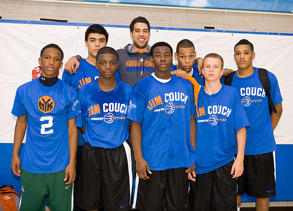 Landry Fields with one of the teams
