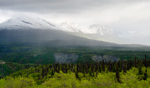 Chugach Mountain Range