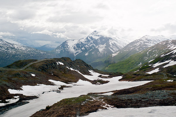 Thompson Pass in the Chugach Mountains