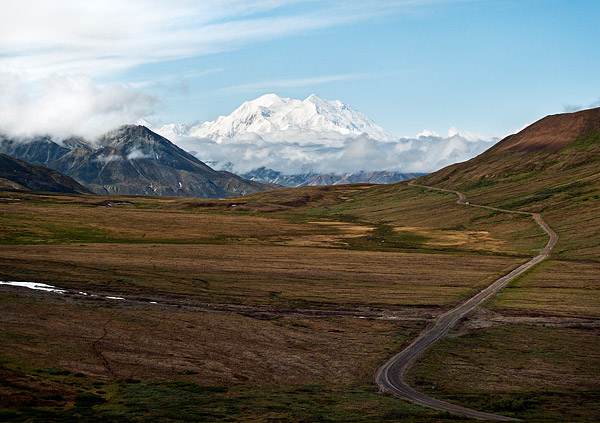 The crown jewel of Denali National Park, Mount McKinley