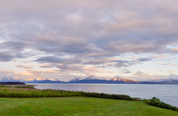 Homer's Kachemak Bay and the Kenai Mountain Range