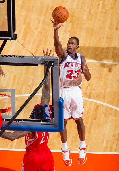 The Knicks' Toney Douglas