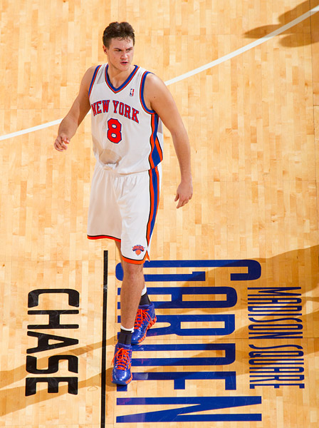 The Knicks' Danilo Gallinari