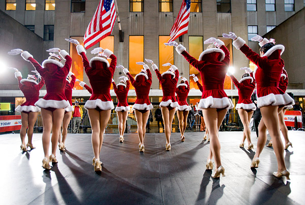 Radio City Rockettes on the Today Show
