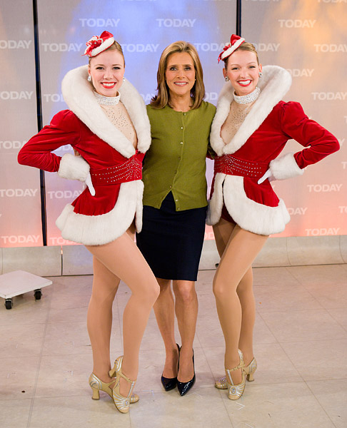 Radio City Rockettes with Meredith Vieira