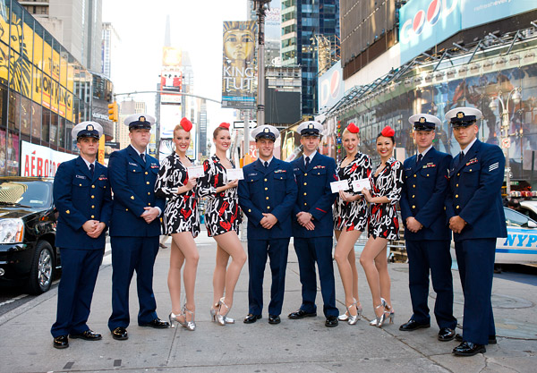 Rockettes in Times Square