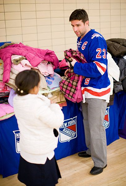 Chris Drury Garden of Dreams Foundation coat drive