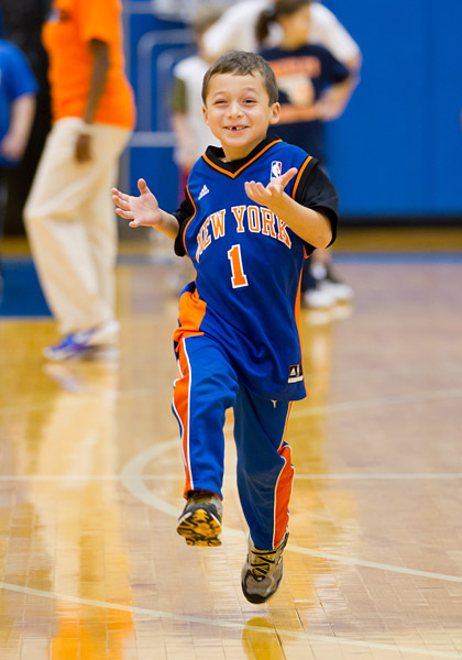 Knicks clinic