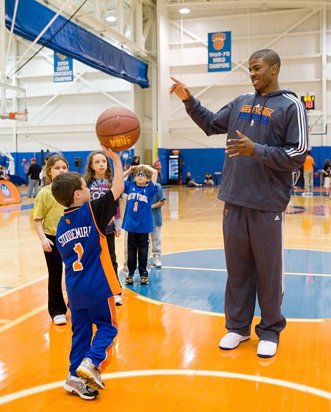 The Knicks' Kelenna Azubuike