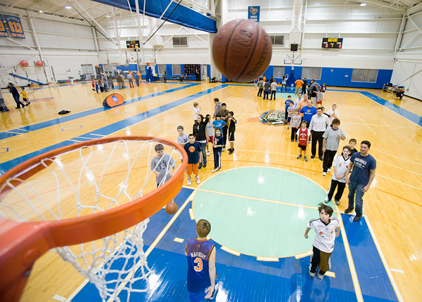 Knicks basketball clinic