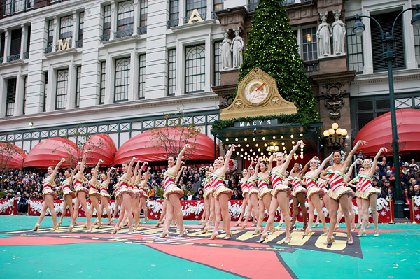 Rockettes Thanksgiving Parade