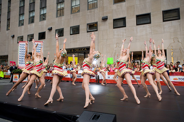 Rockettes on the Today Show
