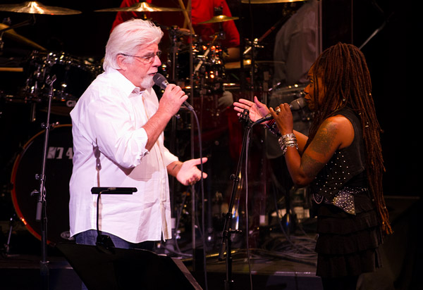Michael McDonald and Catherine Russell