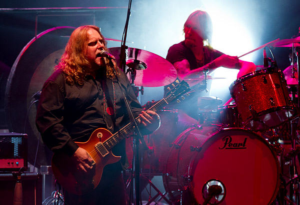 Warren Haynes and drummer Matt Abts