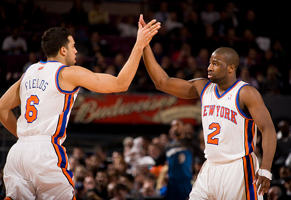 Landry Fields and Raymond Felton