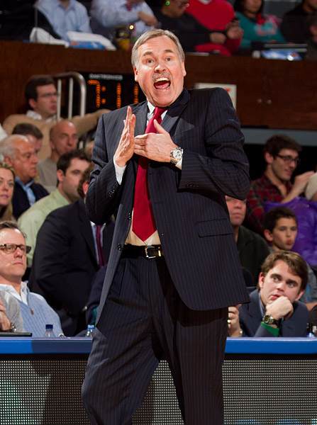 Knicks head coach Mike D'Antoni