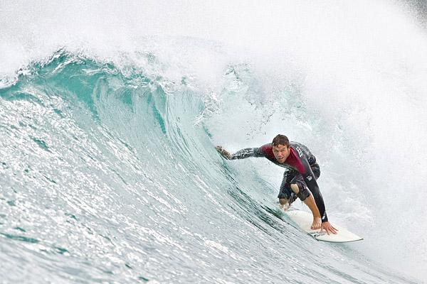 Surfers in Kauai
