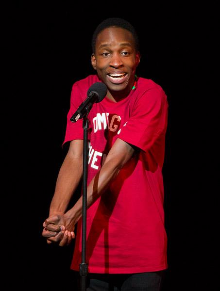 Knicks Poetry Slam 2011 second place Mokgethi