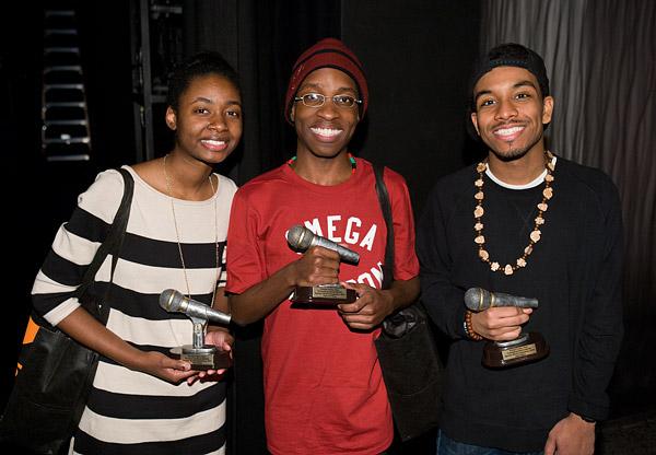 Knicks Poetry Slam 2011 winners