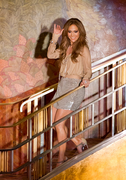 Jennifer Lopez at Radio City Music Hall