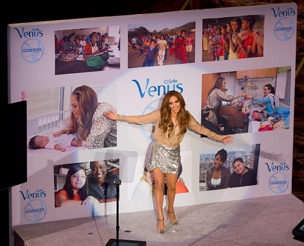 Jennifer Lopez Gillette Venus