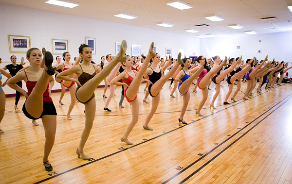 Rockette Summer Intensive kickline