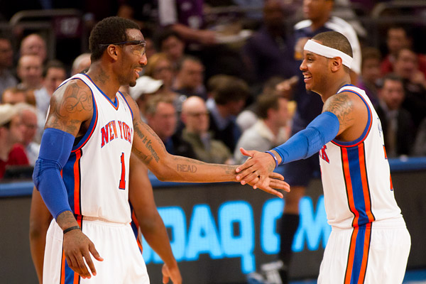 Stoudemire and Anthony