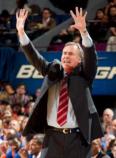 Knicks head coach Mike D'Antoni