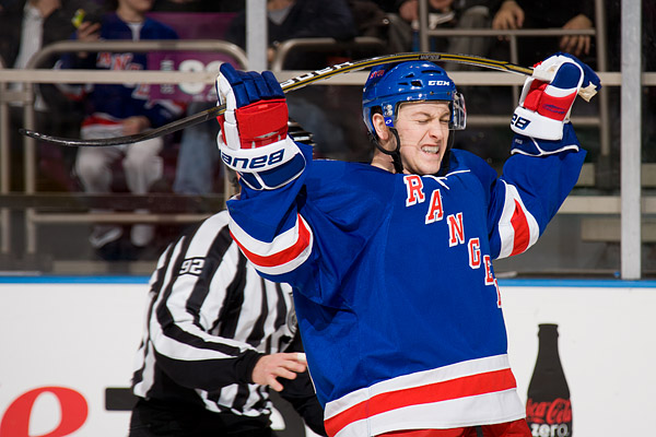 New York Rangers Derek Stepan