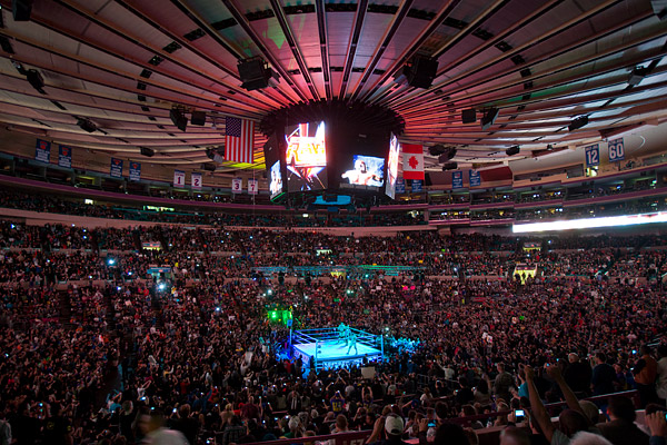 WWE at Madison Square Garden