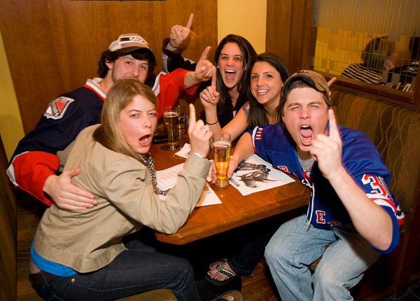Viewing party for New York Rangers