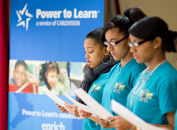 Cablevision's Power to Learn program