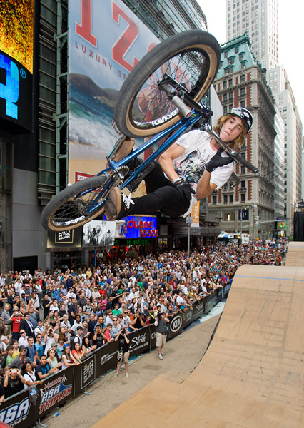 BMX in Times Square