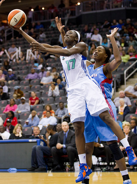 New York Liberty's Essence Carson