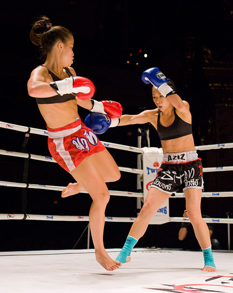 Jessica Ng vs. Ani Hilditch kickboxing