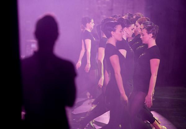 Rockettes rehearse