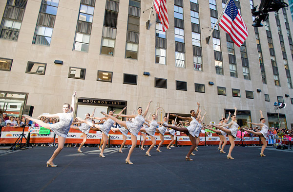 Rockette Today Show performance