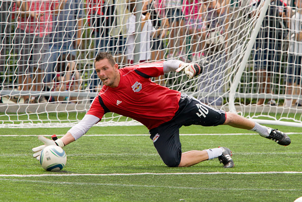 Goalkeeper Chris Konopka