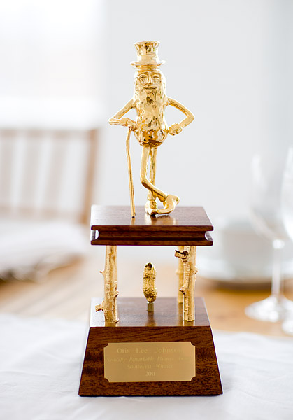 Naturally Remarkable Peanut Award