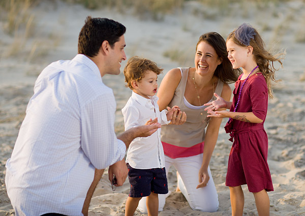 Family beach portraits Southampton