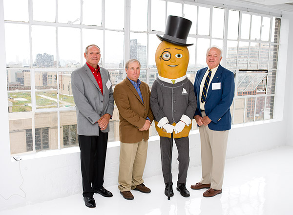Naturally Remarkable Planters Awards winners with Mr. Peanut