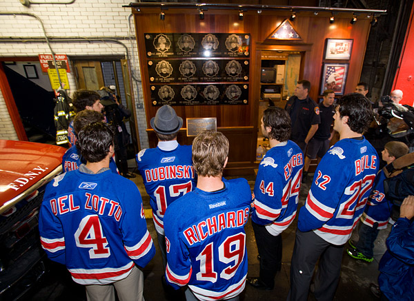 New York Rangers and FDNY