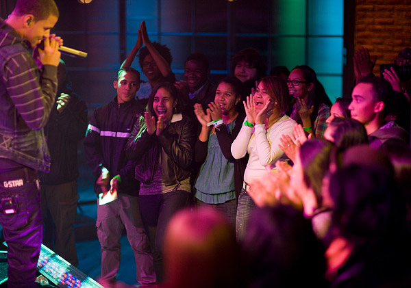 Live audience with J. Cole