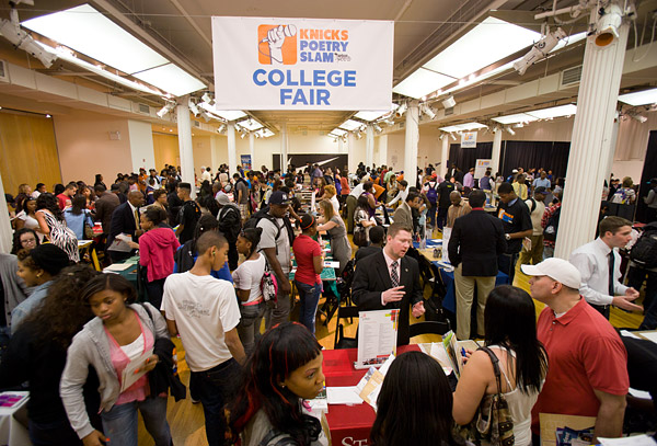 Knicks College Fair
