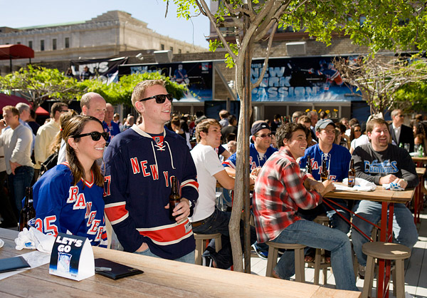 New York Rangers viewing party