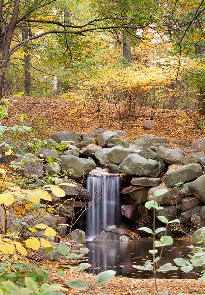 Prospect Park waterfall