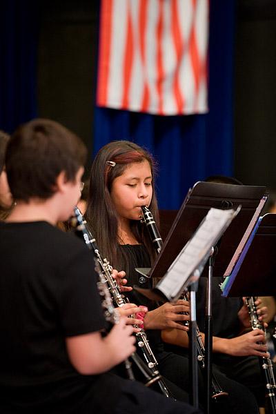 Student Veterans Day performances