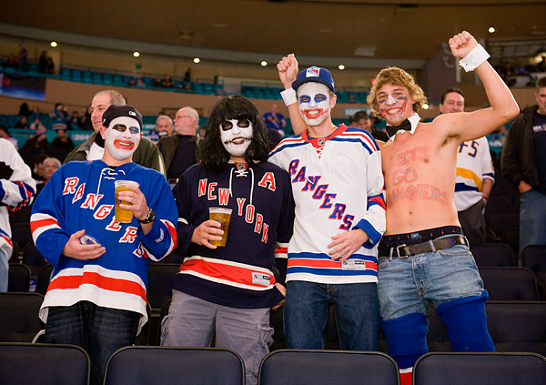 Halloween at Madison Square Garden