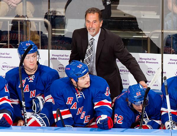 Rangers head coach John Tortorella
